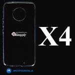 เคส Moto X4 ซิลิโคน สีใส