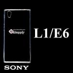 เคส SONY xperia L1/E6 ซิลิโคน สีใส