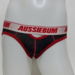 Aussiebum Briefs สีดำ