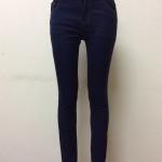 กางเกงยีนส์ฮ่องกงทรงเดฟ สีกรม Size 32 Code#624