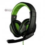 หูฟัง OKER X2 สีเขียว