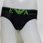 Armani bikini briefs สีดำ
