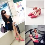 Preorder รองเท้าแฟชั่น สไตล์เกาหลี 34-39 รหัส 9DA-5722