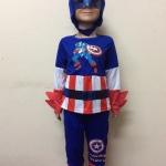 ชุดกัปตันอเมริกา Captain America มีไฟกระพริบ
