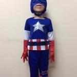 ชุดกัปตันอเมริกา Captain America มีถุงมือ มีไฟกระพริบ ลิขสิทธิ์แท้