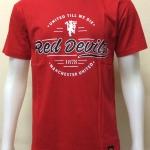 เสื้อยืดคอกลมแมนยูฯ สีแดง