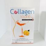 Donut Collagen 10000 mg โดนัท คอลลาเจน 10000 มก. รสส้ม (10 ซอง/กล่อง)