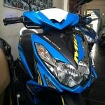 MIO 125 i MX ตัวท็อปล้อแมกซ์ ลายใหม่ล่าสุด สีฟ้าดำ ระบบหัวฉีดอัจฉริยะ YMJET-FI ประหยัดน้ำมันขั้นเทพ แถม 4 รายการ