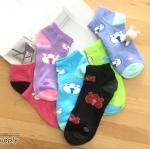 เซตถุงเท้า ลายหมี สีผสม ( 6 คู่ )