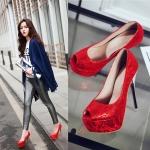 Preorder &#x2764 รองเท้าแฟชั่น สไตล์เกาหลี 32-44 รหัส 9DA-1024