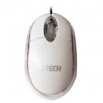 USB Optical Mouse G-TECH (GT1001) (สีขาว)