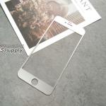 ฟิล์มกระจก iPhone6/6s Plus ไทเทเนียม สีเงิน