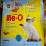 me-0 kitten ปลาทะเล 6.8kg สองถุง1080รวมส่ง