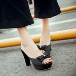 Preorder รองเท้าแฟชั่น สไตล์เกาหลี 33-42 รหัส N5-9590