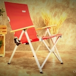 Coleman Lay Chair #Red