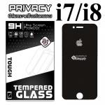 ฟิล์มกระจก iPhone7/iPhone8 (Privacy) (ฟิล์มกันเสือก)