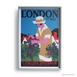 Reproduction Vintage Poster-LONDON MAY