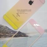 ฟิล์มกระจก iPhone4/4s ลายกากเพชรไล่สี