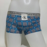 CK Boxer ลายสก๊อตสีฟ้า