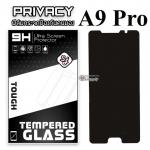 ฟิล์มกระจก Samsung A9/A9 Pro (Privacy) (ฟิล์มกันเสือก)