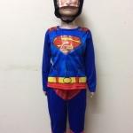 ชุดซุปเปอร์แมน (Superman) มีหน้ากาก มีไฟกระพริบ ลิขสิทธิ์แท้
