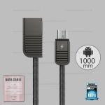 สายชาร์จ Micro USB (RC-088m) REMAX สีเทา
