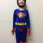 ชุดซุปเปอร์แมน (Superman) มีหน้ากาก มีถุงมือ มีไฟกระพริบ ลิขสิทธิ์แท้