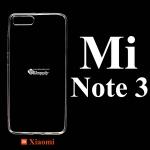 เคส Xiaomi Mi Note 3 ซิลิโคน สีใส