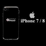 เคส iPhone7/8 ซิลิโคน สีใส