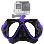 FREEWELL Diving Mask Blue หน้ากากดำน้ำสำหรับติดกล้อง GoPro Hero4,3+,3,Action Camera สีน้ำเงิน