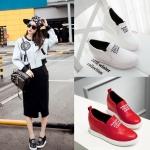 Preorder รองเท้าแฟชั่น สไตล์เกาหลี 32-43 รหัส 9DA-6424