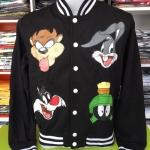 ลูนี่ตูนส์ เสื้อแจ็คเก็ตกันหนาว (Looney tunes face)