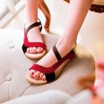 Preorder รองเท้าส้นเตี้ย 34-43 รหัส 55-4216