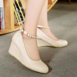 พร้อมส่ง รองเท้าแฟชั่น สี Cream ไซส์ 35 รหัส PP-N5-7762