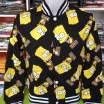 ซิมสัน เสื้อแจ็คเก็ตกันหนาว (Simpsons face tiny)