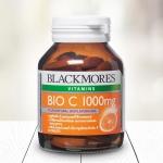 แบลคมอร์ส ไบโอซี blackmores bio c 1000 mg 62 tablets