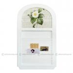 เมโมบอร์ดบานเกล็ด / Wall Memo Board รุ่น White Rose