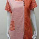 เสื้อคอกลม สีส้ม BY T&L