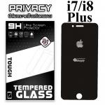 ฟิล์มกระจก iPhone7/8 Plus (Privacy) (ฟิล์มกันเสือก)