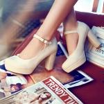 Preorder รองเท้าแฟชั่น สไตล์เกาหลี 34-43 รหัส 9DA-7034