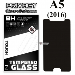 ฟิล์มกระจก Samsung A5(2016) Privacy (ฟิล์มกันเสือก)