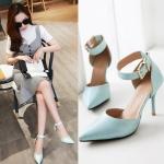Preorder รองเท้าแฟชั่น สไตล์เกาหลี 34-43 รหัส C-8480