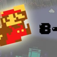 เสื้อเกม8บิท มาริโอ้[เกมบอย มาริโอ้ สตรีทไฟเตอร์ เกม8บิต]