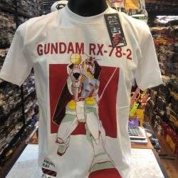 กันดั้ม สีขาว (Gundam White LOGO red CODE:1211)