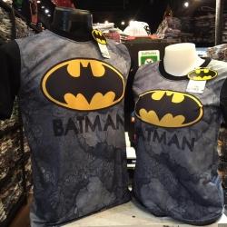 แบทแมน สีเทา (Batman gray arm black yellow logo)