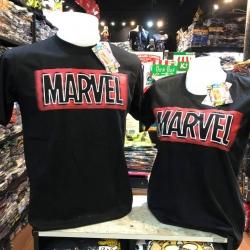 มาร์เวล สีดำ (Marvel black logo black CODE:1287)