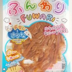 ขนมแมว Cataholic Fuwari สูตร Chicken & Fish รสไก่และปลา ขนาด 30 กรัม หนึ่งโหล450รวมส่ง