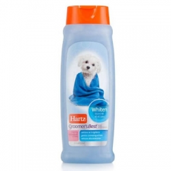 Hartz Groomer's Best - Whitening shampoo 532ml 320รวมส่ง