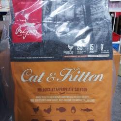 Orijen cat&kitten 5.4kg. 2300รวมส่ง
