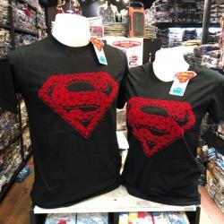 ซุปเปอร์แมน สีดำ (Superman BLACK logo RED CODE:0893)